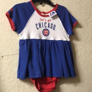 Chicago Cubs outfit for babies